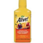 Nature's Way Alive!® Max Potency Liquid Multivitamin