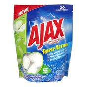 Ajax Green Apple Scent Triple Action Automatic Dishwasher Detergent - 20 CT