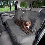 Kurgo Bench Seat Cover, Extended, Charcoal, 63 Meters