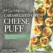 Bite Size Indulgences Cheese Puff, Caramelized Onion