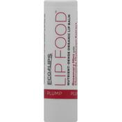 Eco Lips Lip Balm, Rosemary Mint with Chamomile Mushroom Extract, Plump
