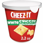 Cheez-It Cheese Crackers, Baked Snack Crackers, White Cheddar