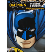 Bendon Coloring & Activity Book with Mask & Stickers, Batman