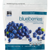 Food Lion Blueberries, Picked Fresh, Pouch