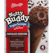 Friendly's Ice Cream, Chocolate Overload, 4 Pack