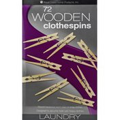 Royal Crest Clothespins, Wooden