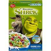 Post DreamWorks Shrek Ogre O's Cereal