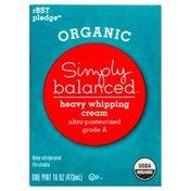Simply Balanced Whipping Cream, Heavy