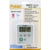 Polder Digital Timer, Buzz & Beep