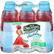 Healthy Balance Diet Strawberry Watermelon Juice