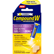 CompoundW Wart Remover System, Maximum Strength