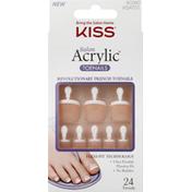 Kiss Acrylic Toenails, Salon, KSAT01