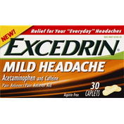 Excedrin Mild Headache, Caplets