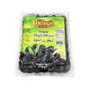 Al Mashrek Whole Black Olives