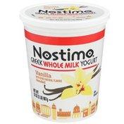 Nostimo Vanilla Blended Greek Whole Milk Yogurt