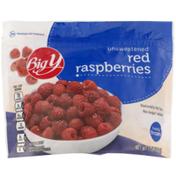 Big Y Unsweetened Red Raspberries