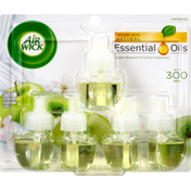 Air Wick Scented Oil Refills, Apple Blossom & Cotton Fragrance