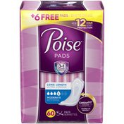 Poise Incontinence Pads,