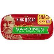 King Oscar Sardines in Olive Oil Snack Size