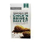 Urban Accents Brine & Bake Kit, Chick'n, Tuscan Garlic & Herb