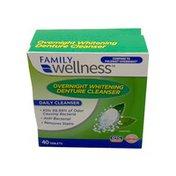 Family Wellness Whitening Denture Tablets