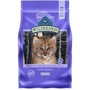Blue Buffalo Wilderness High Protein, Natural Kitten Dry Cat Food, Chicken