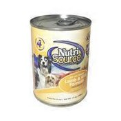 Nutrisource Canned Dog Food Lamb/Rice
