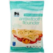 Food Lion Flounder, Arrowtooth, Boneless Fillets, Bag