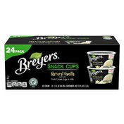 Breyers Ice Cream Natural Vanilla Snack Cups