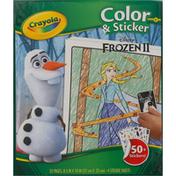 Crayola Color & Sticker, Disney Frozen 2