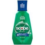 Scope Outlast Mouthwash Long Lasting Mint