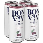 Bon Viv Hard Seltzer Black Cherry, Can