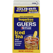 Guers Iced Tea, Sugar Free, with Natural Lemon Flavor