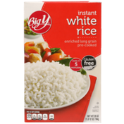 Big Y Enriched Long Grain Pre-Cooked Instant White Rice