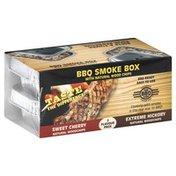 Bbq Chef BBQ Smoke Box, Sweet Cherry and Extreme Hickory
