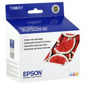 Epson Ink Cartridge, Color, T008201