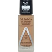 Almay Foundation, Comfort Matte, Neutral Toasty Beige 180