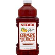 Kedem 100% Juice, Pure, Grape Peach