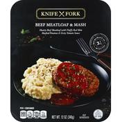 Knife Fork Beef Meatloaf & Mash