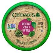 Cedar's Foods Artichoke Spinach Hommus