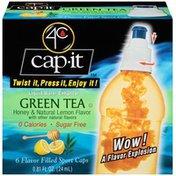 4C Cap-It Green Tea Liquid Water Enhancer