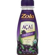 Zola Juice, Organic, Acai, Original