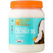 BetterBody Foods Organic Refined Coconut Oil