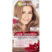 Color Sensation 7.0 Dark Natural Blonde Rich, Long-Lasting Color Cream
