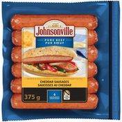 Johnsonville Beef & Cheddar Smoked Sausage