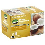 Green Mountain Coffee, Island Coconut, K-Cup Pods