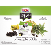 Dole Dippers Dark Chocolate Covered Pineapple Tidbits