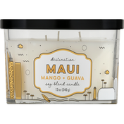 Paddywax Soy Blend Candle, Mango + Guava