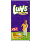 Luvs with Ultra Leakguards Mega Pack Size 5 Diapers