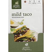 Simply Organic Seasoning Mix, Mild Taco